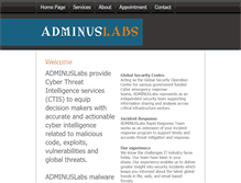 Tablet Preview of adminuslabs.net